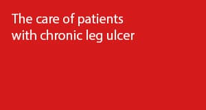 The care of patients with chronic leg ulcer